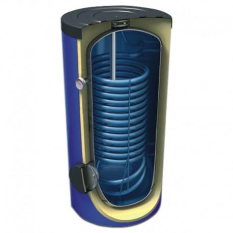 Pionowy emaliowany ogrzewacz wody z jedną wężownicą CWU